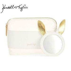 Kendall+ Kylie MAkeup Bag And Mirror Set